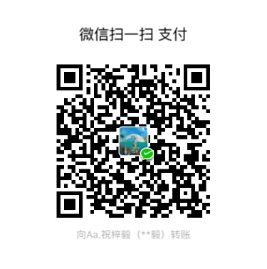 祝梓毅 WeChat Pay